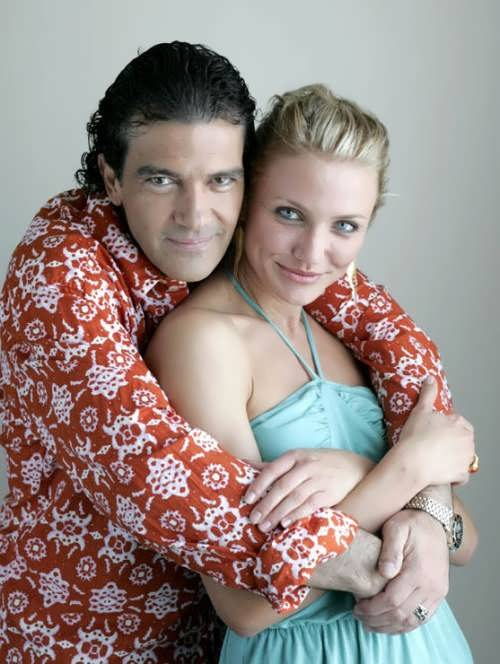 Antonio Banderas and Cameron Diaz
