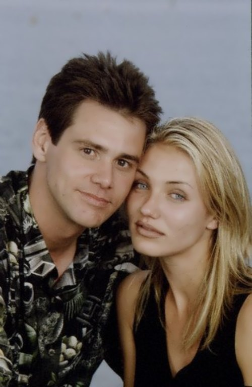 Jim Carrey and Cameron Diaz