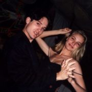 Actor Peter Dobson and Cameron Diaz