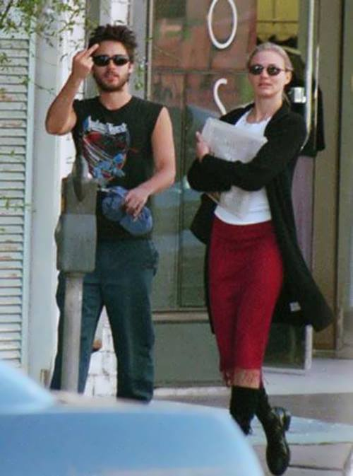 Jared Leto and Cameron Diaz