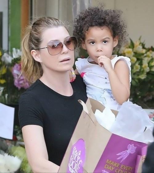 Ellen and her daughter