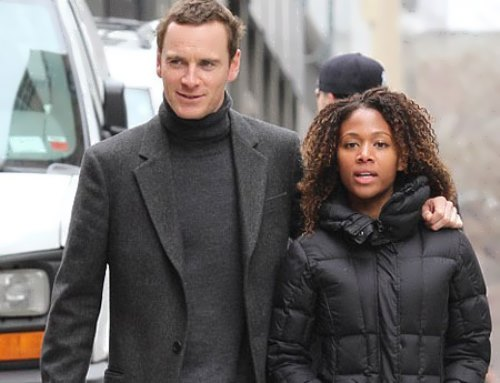 Nicole Behari and Michael Fassbender