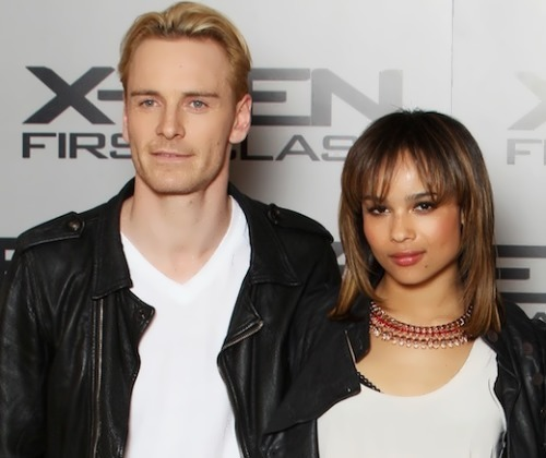 Zoe Kravitz and Michael Fassbender