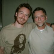 Michael Fassbender and his father