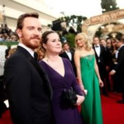 Michael Fassbender and his sister