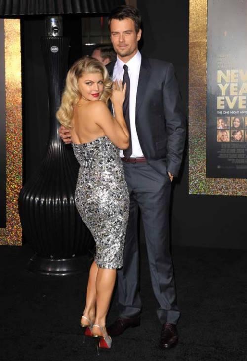 Fergie and her husband Josh Duhamel