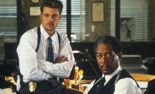 Brad Pitt and Morgan Freeman