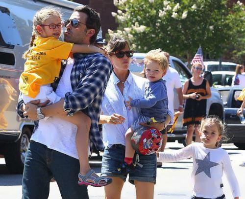 Ben Affleck and his children
