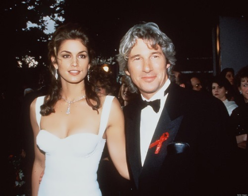 Cindy Crawford and Richard