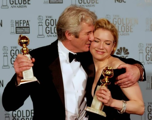 Gere and Renee Zellweger won the Golden Globe