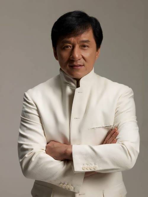 Jackie Chan – actor and stuntman