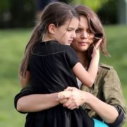Katie Holmes and daughter Suri