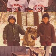 Jared and his brother in childhood