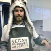 Jared is a vegan