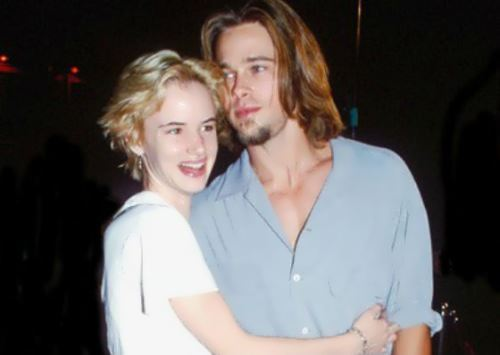 Brad Pitt and Juliette Lewis