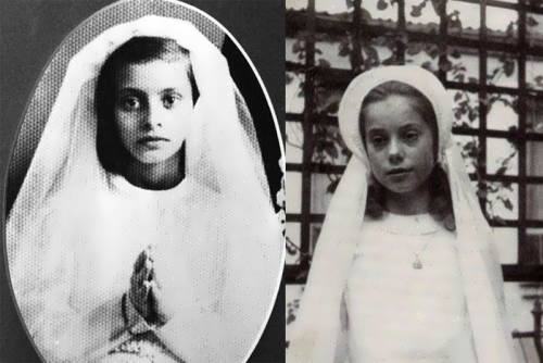 Sophia Loren in her childhood