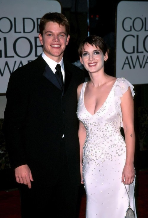 Matt Damon and Winona Ryder