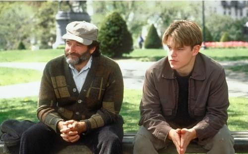 Matt Damon and Robin Williams