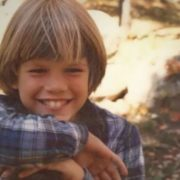 Matt Damon in his childhood