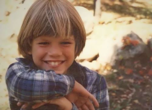 Matt Damon in his childhood