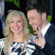 James McAvoy and his sister