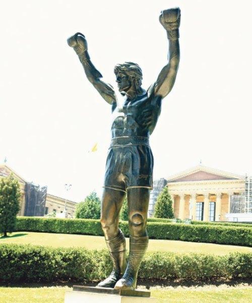 Monument to Rocky in Philadelphia