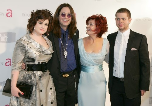 Ozzy and his family