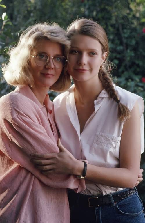 Gwyneth and her mother