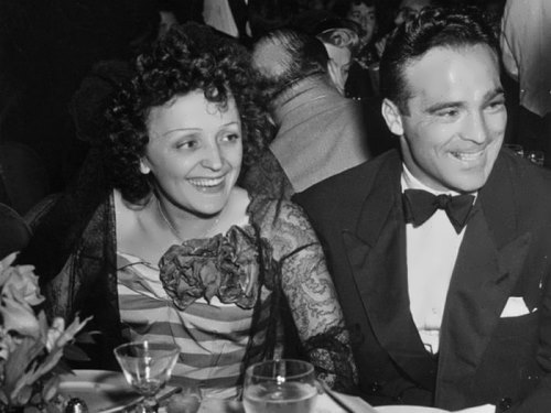Marcel Cerdan and Edith Piaf
