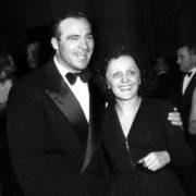Marcel Cerdan and Edith Piaf
