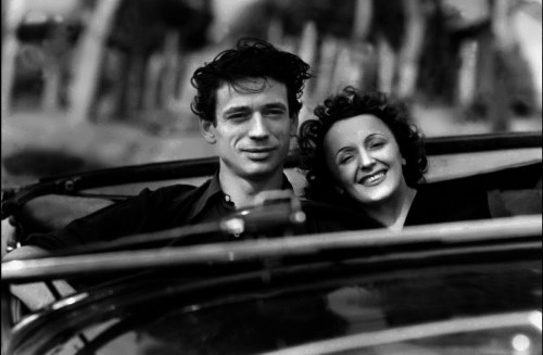 Yves Montand and Edith Piaf