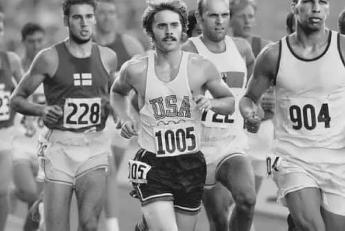 Leto in the film Prefontaine