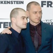 Daniel Radcliffe and James McAvoy