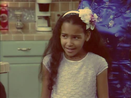 Naya in her childhood