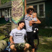 Naya Rivera, her husband and their son