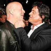 Bruce Willis and Stallone