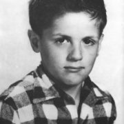 Sylvester Stallone in his childhood