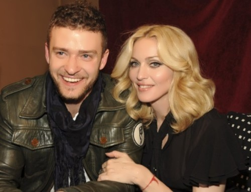 Madonna and Justin Timberlake