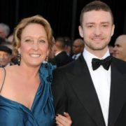 Justin Timberlake and his mother