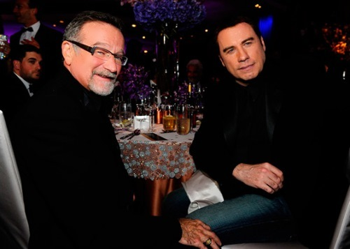 John Travolta and Robin Williams