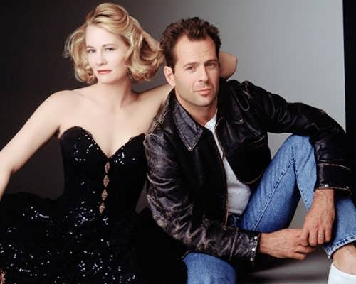 Cybill Shepherd and Bruce Willis