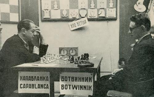 Capablanca and Botwinnik