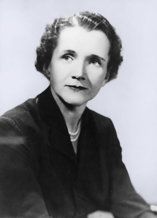 American ecologist Rachel Carson