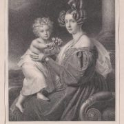 Archduchess Sophia with her son Franz Joseph, 1832