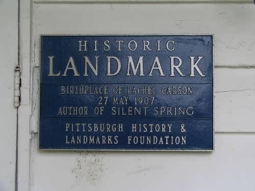 Birthplace of Rachel Carson