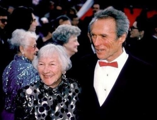 Clint and his mother