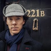 Cumberbatch as Sherlock Holmes
