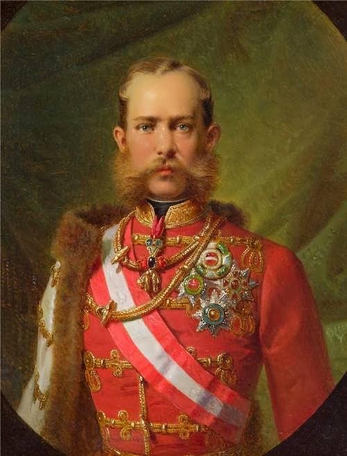 Emperor Franz Joseph I, c. 1867