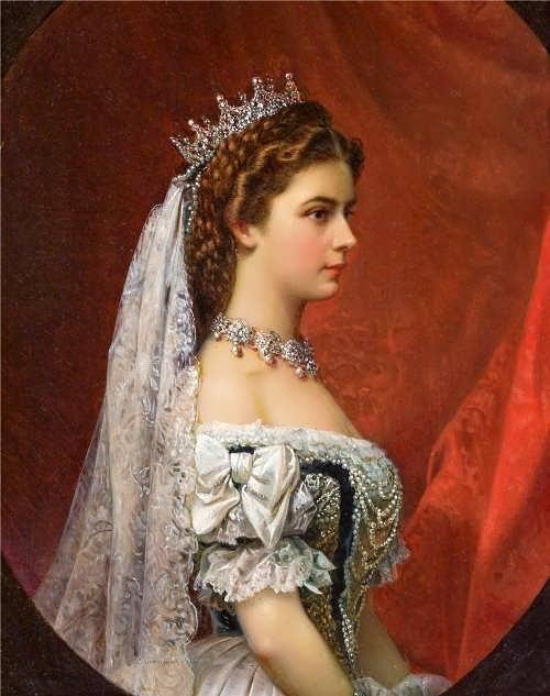 Empress Elisabeth, с. 1867