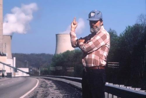 Environmentalist Edward Abbey